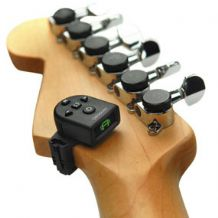Planet Waves NS Micro Headstock Tuner for Guitar Bass Mandolin Ukulele etc.
